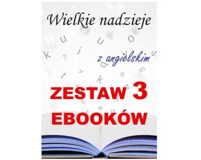 3 ebooki: Wielkie nadzieje, Tłumacz grecki, nauka angielskiego z książką dwujęzyczną