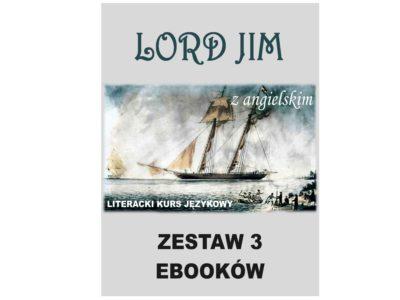 3 ebooki: Lord Jim, Tłumacz grecki, nauka angielskiego z książką dwujęzyczną