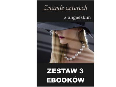 3 ebooki: Znamię czterech, Tłumacz grecki, nauka angielskiego z książką dwujęzyczną