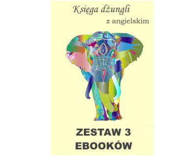 3 ebooki: Księga dżungli, Tłumacz grecki, nauka angielskiego z książką dwujęzyczną