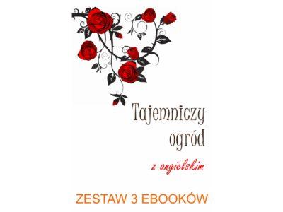 3 ebooki: Tajemniczy ogród, Tłumacz grecki, nauka angielskiego z książką dwujęzyczną
